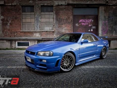 nissan skyline fast and furious 4 nissan cars r34 skyline driven by paul walker up