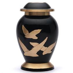 urns for ashes small human funeral urn for ashes uk going home black keepsake cremation urn 163 29