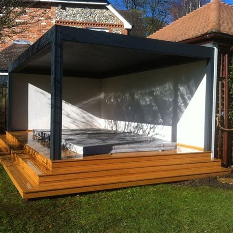 renson camargue louvered roof terrace cover