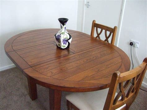 beautiful top quality  dining table  butterfly extension  morris furniture