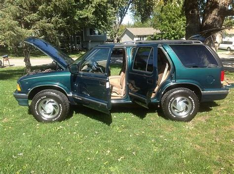 how to fix cars 1997 chevrolet blazer parental controls sell used 1997 chevrolet blazer lt sport utility 4x4 rare find 4 door 4 3l in oswego illinois
