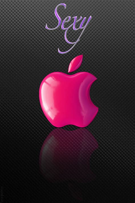 wallpaper pink iphone 4 sexy pink apple logo wallpaper free iphone wallpapers
