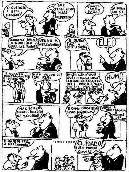 Profº Valdinei Andrade: Capitalismo - Charge