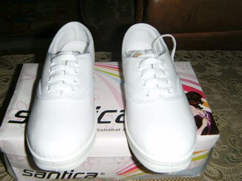 Sepatu Merk Santica sepatu kanvas polos