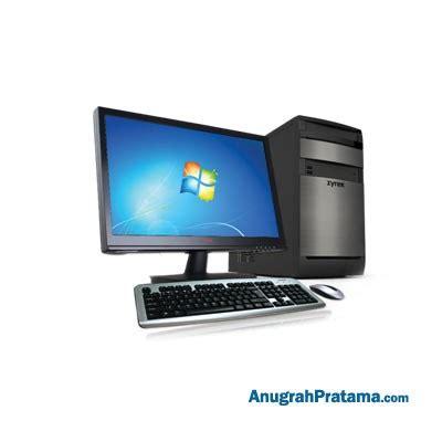 Monitor Komputer Zyrex jual zyrex ds003w i5 2gb 1tb win10 home 18 5 inch desktop pc terbaru harga murah