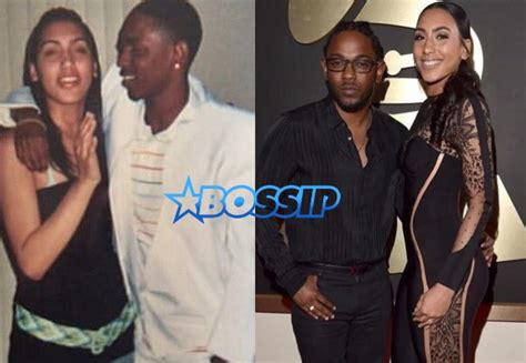 kendrick lamar wife kendrick lamar thanks fiancee whitney alford at grammy