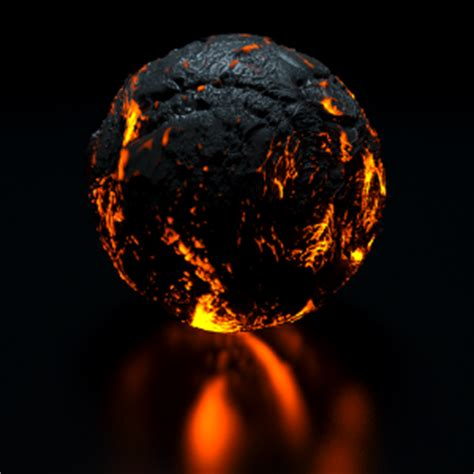 Lava L Materials by Emission Arnold For 3ds Max User Guide 5 Solid Angle