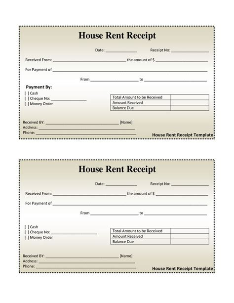vacation home rental receipt template rental management template property management agreement