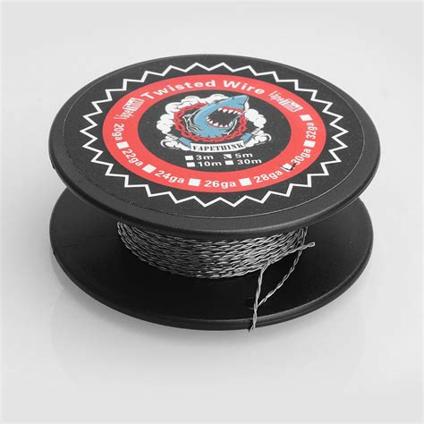 Sale Kanthal Wire 28 Awg Kantal Khantal authentic vapethink kanthal a1 28 awg x 2 5m twisted