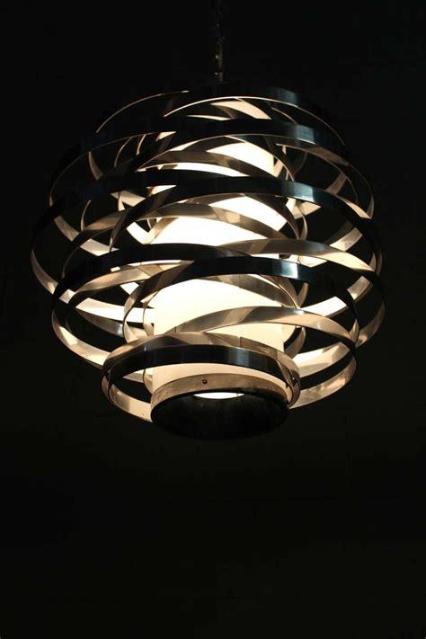 Light Fixture Ring Max Sauze Aluminum Ring Light Fixture At 1stdibs