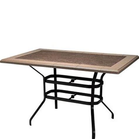 rectangular bar height base for 69 x 43 top kd tropitone