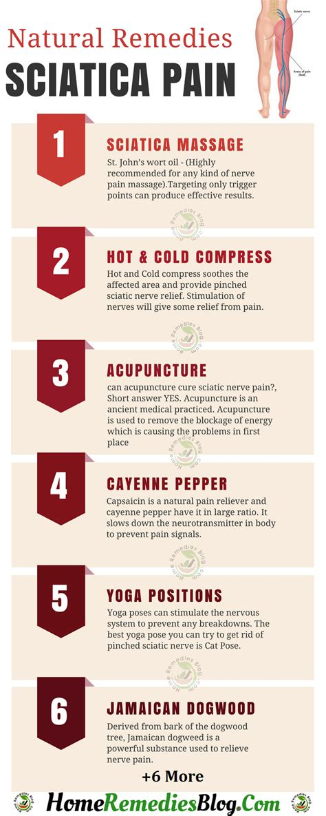 12 remedies for sciatica and nerve home