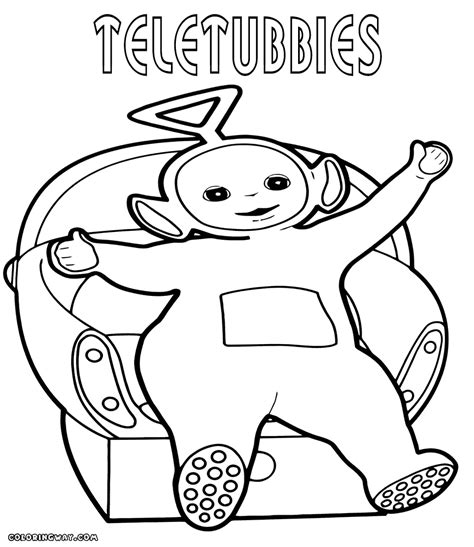 Teletubbies Coloring Pages by Teletubbies Coloring Pages Coloring Pages To