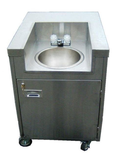 Mobile Wash Sink portable push carts for sale