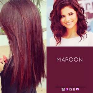 maroon colored hair 25 best ideas about maroon hair on burgundy