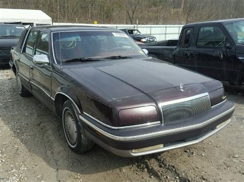 1993 chrysler new yorker for sale 30 used cars from 840 1993 chrysler new yorker for sale wv charleston salvage cars copart usa