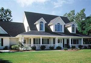 Country Style House Designs by 3 Front Dormers And Farmers Porch House Plans