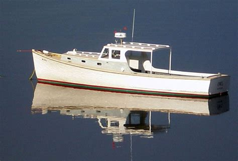 lobster boat manufacturers owl a wooden lobster yacht built by newbert wallace in