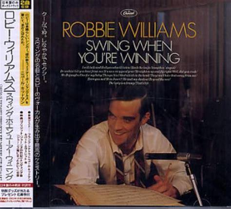 robbie williams swing when you re winning welke muziek heb je onlangs aangeschaft