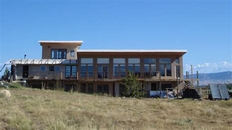 Berm Home Plans by Off Grid Passive Solar Modified Earthship Made From