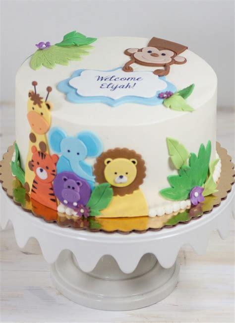 Animal Baby Shower Cake Ideas animal friends baby shower cake baby cake images