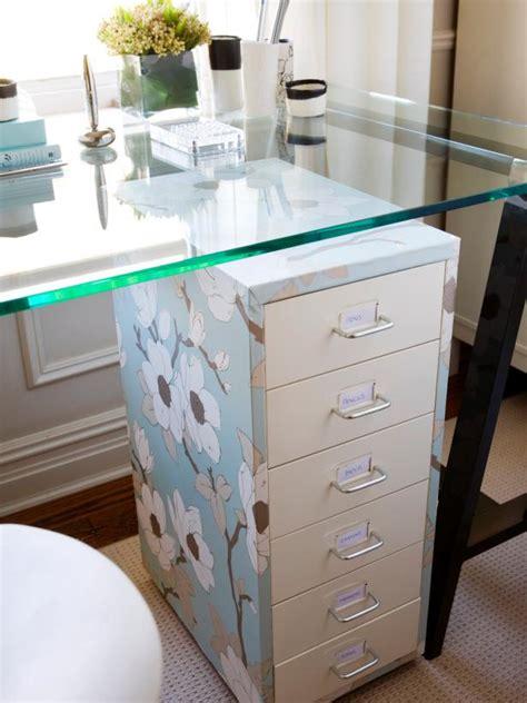 Bedroom Storage Desk Chic Storage Solutions Hgtv
