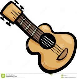Bookcase Spanish Guitar Clip Art Cartoon Illustration Stock Images Image