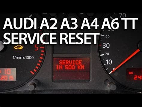 resetting windows on audi tt how to reset service interval in audi a2 a3 a4 a6 tt sri