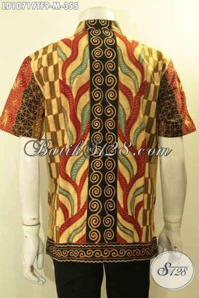 Kemeja Santai Buat Kuliah Ngantor jual baju batik kemeja batik kwalitas premium proses tulis motif sinaran model