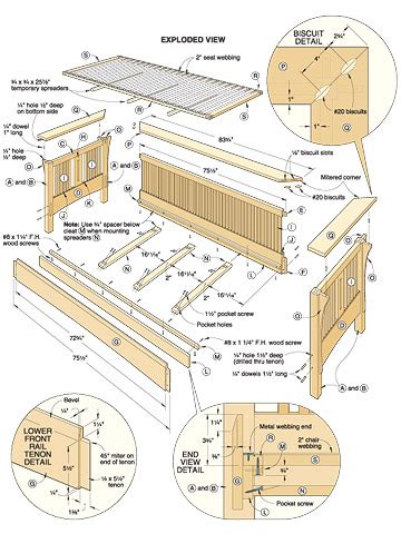 free sofa plans woodworking sofa plans free woodproject