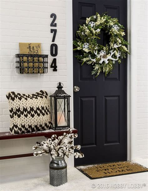 Incorporate Front Door Decor That Provides A Welcoming Front Door Makeover Ideas
