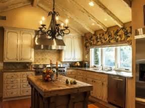 exceptional Decorate Kitchen Window #6: old-french-country-kitchen-design.jpg
