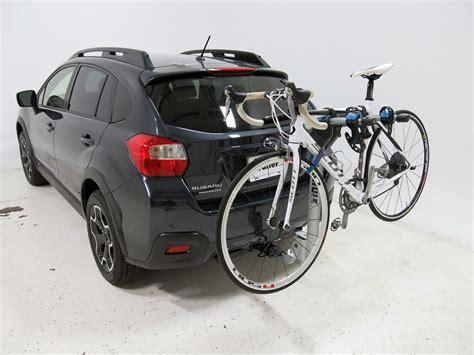 bike rack subaru crosstrek subaru xv crosstrek thule helium aero 2 bike rack 1 1 4