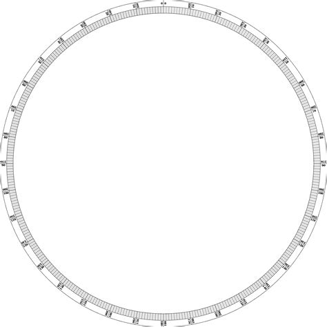 360 degree circle template printable protractor 360 cliparts co
