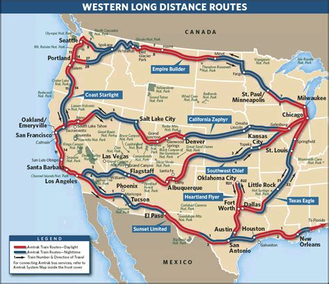 Train Routes | review of amtrak s california zephyr and coast starlight