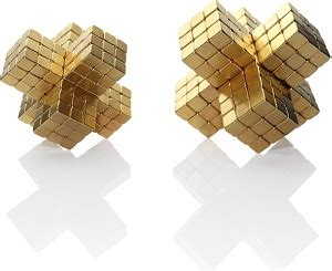Block Happy 216 Pcs Murah buckycubes magnetic block toys 216pcs 4mm golden