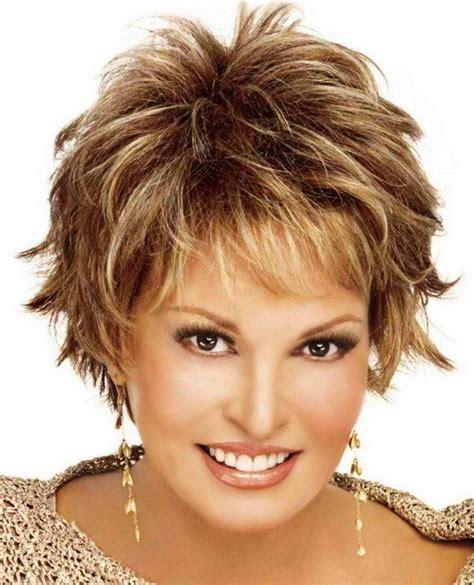 fifty shag short shag hairstyles for women over 50 short shag