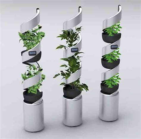Picture Of edn vertical garden system for growing up to 21