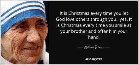 mother teresa quote   christmas  time   god love