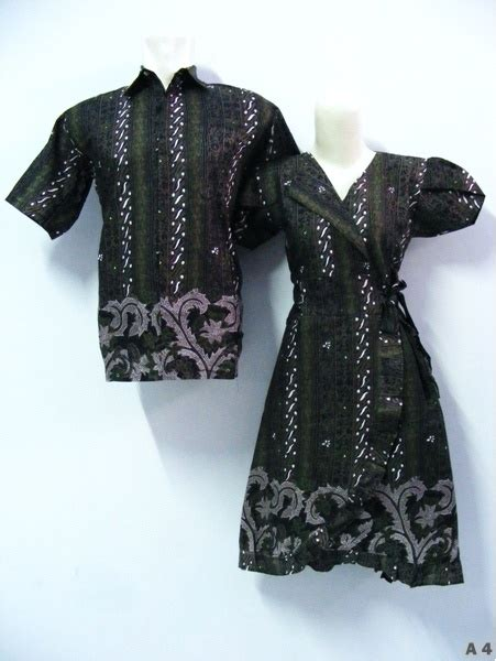 Sarimbit Dress A 46 a sarimbit dress batik batik indonesia