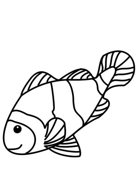 ocean fish coloring pages coloring home