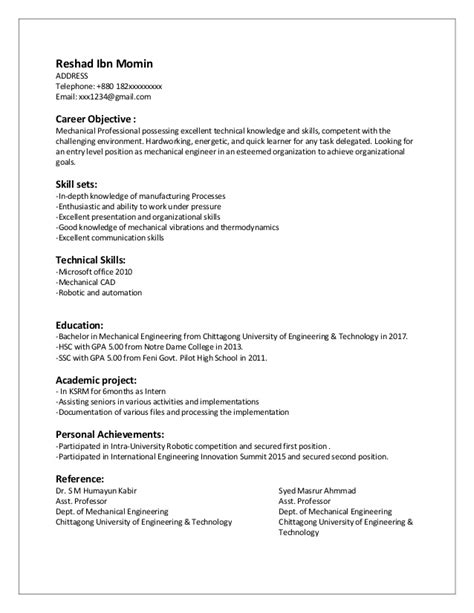 sample resume for freshers pdf templates instathreds co