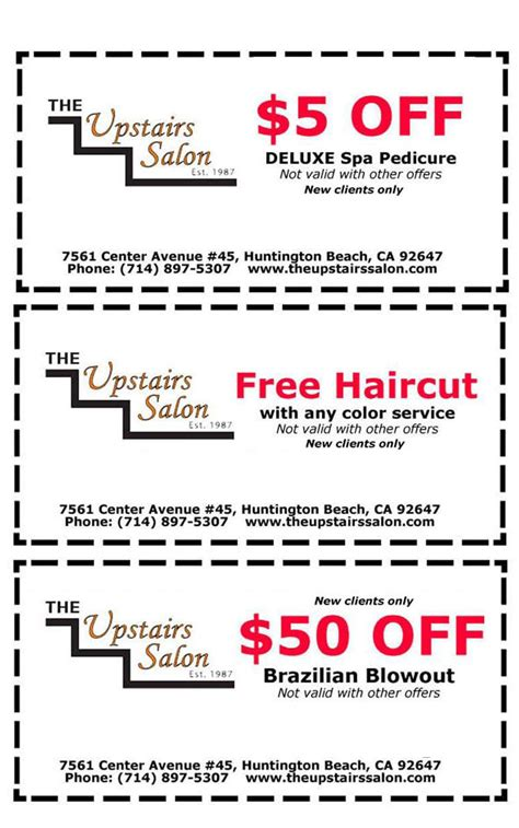 haircut coupons mission viejo free haircut with color service haircuts models ideas