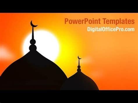 Muslim Mosque Powerpoint Template Backgrounds Digitalofficepro 00114w Youtube Islamic Powerpoint