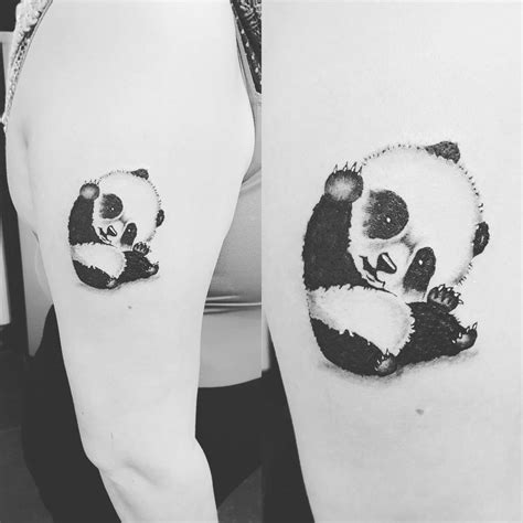 59 amazing panda bear tattoo ideas for girls the gallery for gt cute panda nail designs