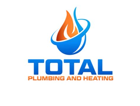 Total Plumbing by Total Plumbing And Heating Logo Design 48hourslogo