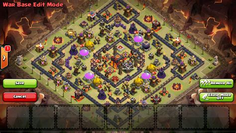 town hall 10 war base 275 walls ash s town hall 10 base file with 275 walls page 5