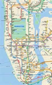 map of manhattan ny geography maps manhattan new york city