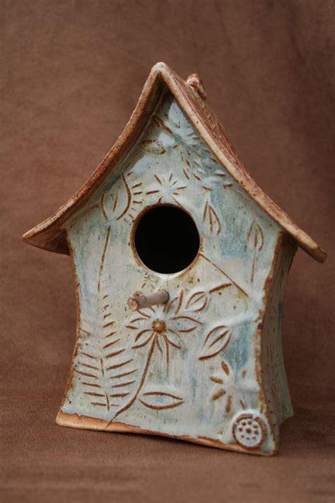 Ceramic Birdhouses Handmade - 17 best images about birdhouses on ceramics
