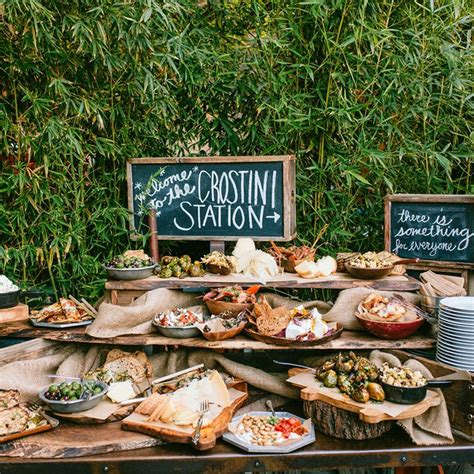 food ideas for a best 25 food stations ideas on wedding food